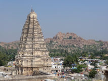 Virupaksha Temple at Vijayanagara Royalty Free Stock Photography