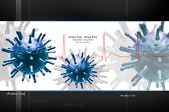 Virus stock illustration