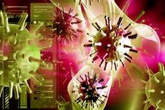 Virus Image libre de droits