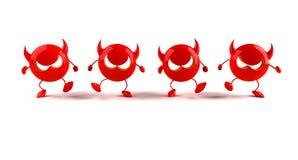 Virus. Danger on internet (or for medical use Stock Images