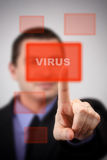 Virus alert Stock Photos