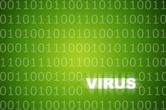 Free Virus Alert Green Abstract Background Royalty Free Stock Photography - 5535257