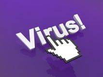 Virus alert Royalty Free Stock Images