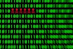 Virus alert Royalty Free Stock Image