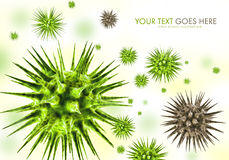 Virus Attack Royalty Free Stock Image