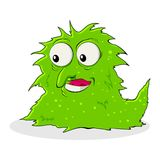Virus and Bacteria Royalty Free Stock Images