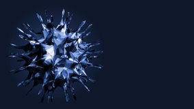 Virus - Bacteria - Cell - Spore - Microbes Stock Photography