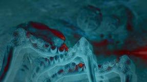Virus and bacterium Stock Photos