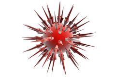 Virus closeup Royalty Free Stock Photography