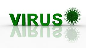 Virus concept Stock Photography