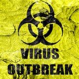 Virus concept background Stock Image