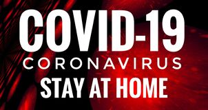 Virus Covid-19 Global Outbreak Spreading Stay At Home