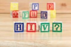 Virus d'HIV Photographie stock