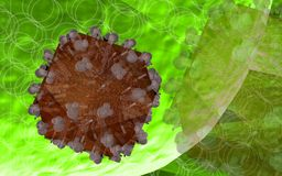 Virus d'HIV Image libre de droits