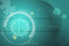Virus 3d image Stock Images