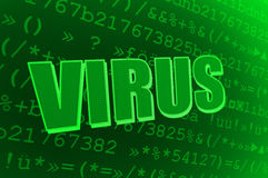 Virus d'ordinateur Photo stock