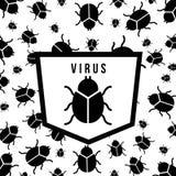 Virus d'ordinateur illustration libre de droits