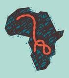 Virus de Ebola en África Fotos de archivo libres de regalías