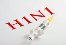 Virus de gripe H1N1 Imagen de archivo libre de regalías