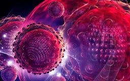 Virus de hepatitis Fotografía de archivo libre de regalías