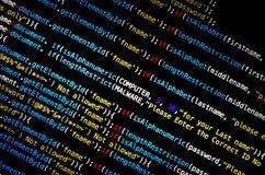 Virus de ordenador y ataque de las mercancías del Mal Fotografía de archivo