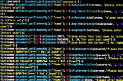 Virus de ordenador y ataque de las mercancías del Mal Imágenes de archivo libres de regalías