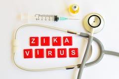 Virus de Zika Fotografía de archivo libre de regalías