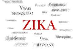 Virus de Zika Image stock
