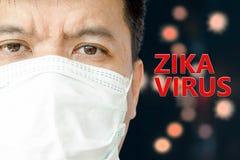 Virus de Zika Fotografía de archivo