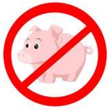 Virus dei maiali Fotografia Stock Libera da Diritti