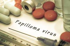 virus del papiloma Fotos de archivo libres de regalías
