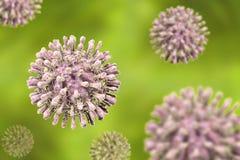 Virus dell'immunodeficienza acquisita di HIV Fotografie Stock Libere da Diritti
