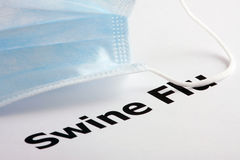 Virus dell'influenza H1N1 Immagini Stock