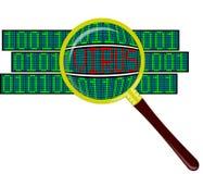 Virus in der Software Lizenzfreie Stockfotos