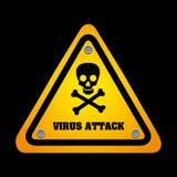 Virus design Royalty Free Stock Image