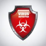 Virus design Stock Image