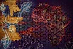 Virus di Ebola Immagini Stock