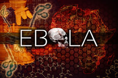 Virus di Ebola Immagine Stock Libera da Diritti