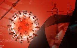 Virus di HIV Immagine Stock