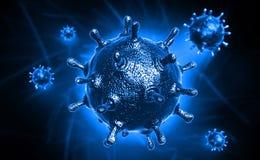 Virus di SAR Fotografie Stock