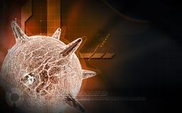 Virus du herpès Image stock