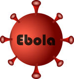 Virus ebola Stock Photography