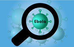 Virus ebola Royalty Free Stock Photos