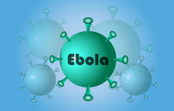 Virus ebola Royalty Free Stock Images