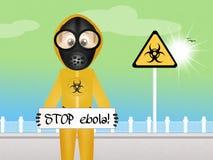 Virus ebola Stock Photo