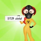 Virus ebola Royalty Free Stock Image