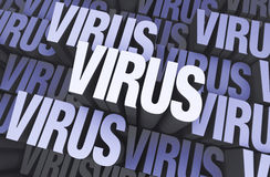 Virus Everywhere Royalty Free Stock Photos