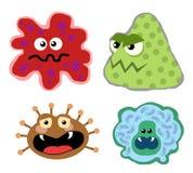 virus för 01 bakterier Arkivbilder
