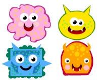 virus för 02 bakterier Arkivfoto