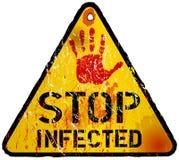 Virus informatico Fotografia Stock